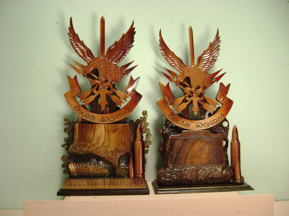 Tropical Wood Carvings